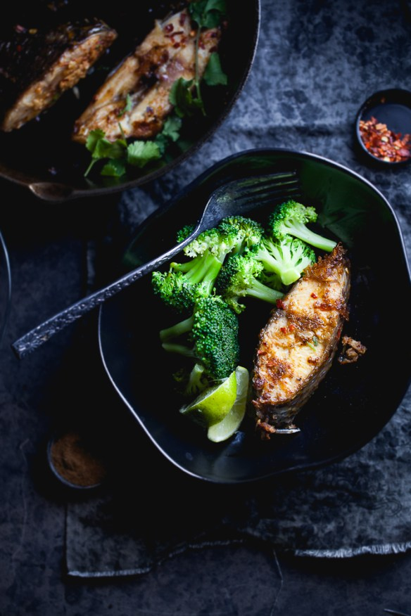 Sinfully Spicy - Tangy Pan fried Fish (Chatpati Macchi)