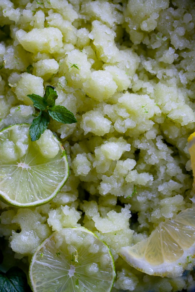 Sinfully Spicy - Green Mango Granita #frozentreat