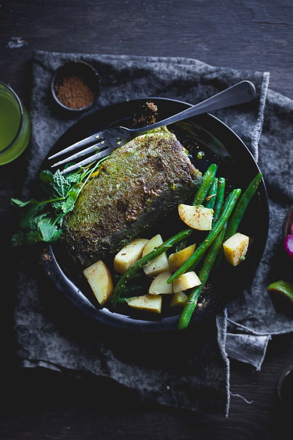 Sinfully Spicy : Green Masala Trout