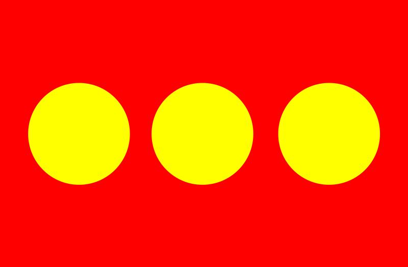 Bandera oficial de Christiania