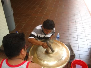 Tuning a Gong
