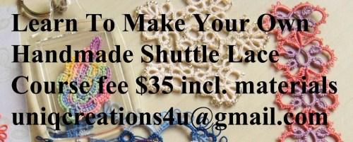 Learn Handmade Lace