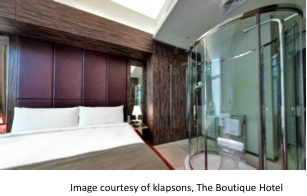 Image Courtesy of Klapsons, The Boutique Hotel