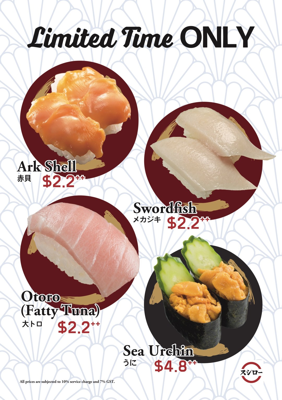 Sushiro's Opening Promotion