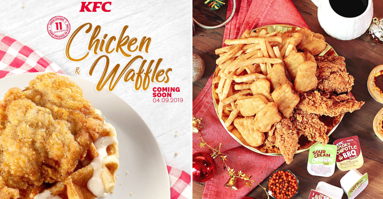 KFC Chicken & Waffles arriving in S'pore