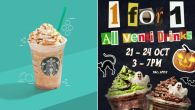Starbucks Singapore Promotion October