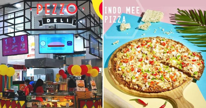 Pezzo Pizza Indomee Pizza