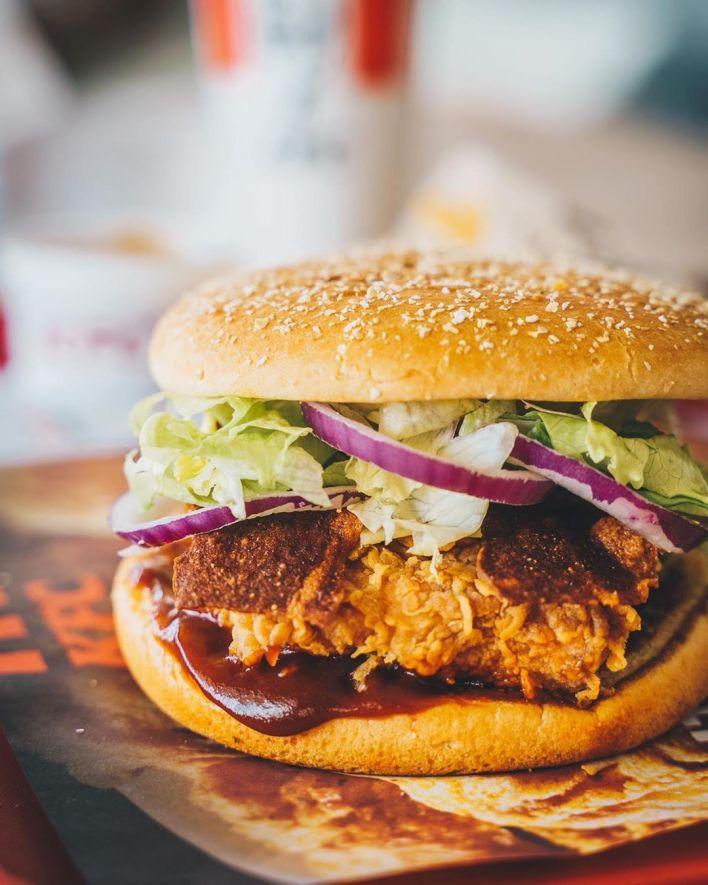 KFC Mighty Zinger Burger Discount
