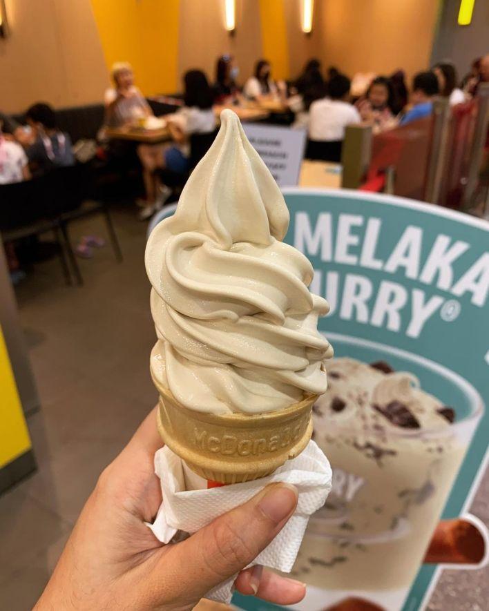 Gula Melaka Ice Cream McDonald's Singapore