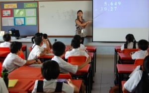 Elementary Math class in Singapore by Cassandra Turner, Singapore Math Teacher, Trainer, Coach