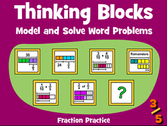 Thinking Blocks Fractions