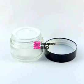 Glass Cosmetic Jar (1 Oz - Small)
