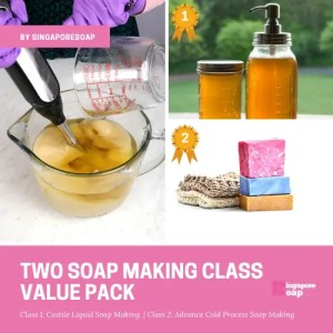Two Soap Making Class Value Pack by Singapore Soap