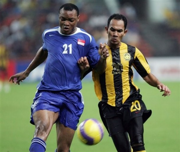 Slow and cruely exposed against Vietnam, Precious Emuejeraye (left) is clearly emerging as a defensive liability for the Lions  Picture from www.daylife.com