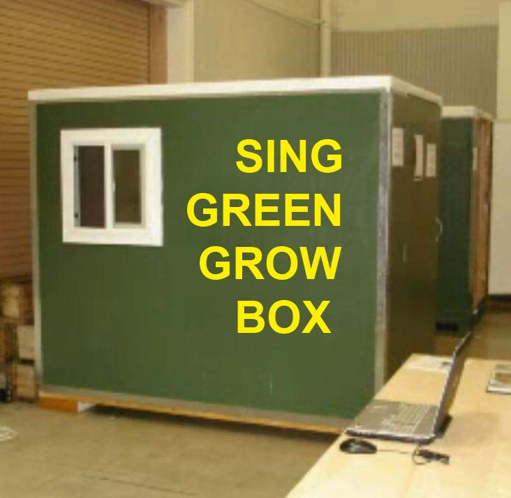 Green Grow Box Insulated Growing Room Non Warping