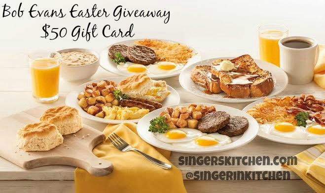 A Relaxed Easter Dinner With Bob Evans Restaurant