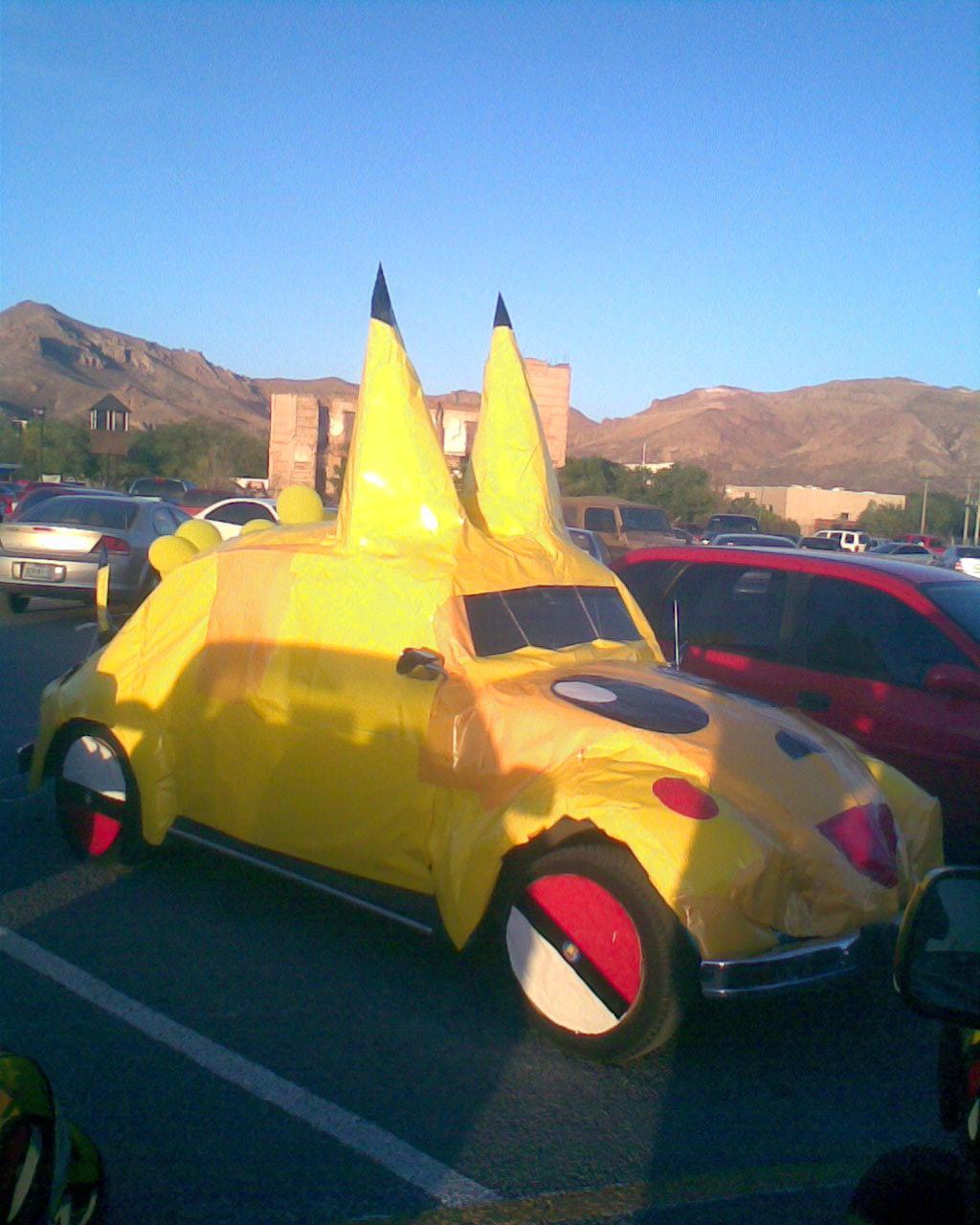 vocho pikachu
