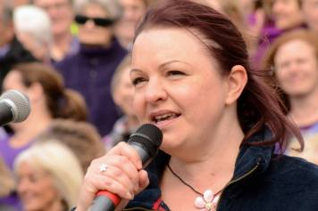 Sing for Water Cardiff 2015 - MC Sue Ellar