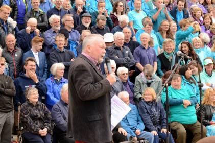Sing for Water Cardiff 2015 - Master of Ceremonies Frank Hennessy