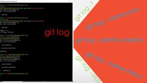 Explore 'git log' feature and power