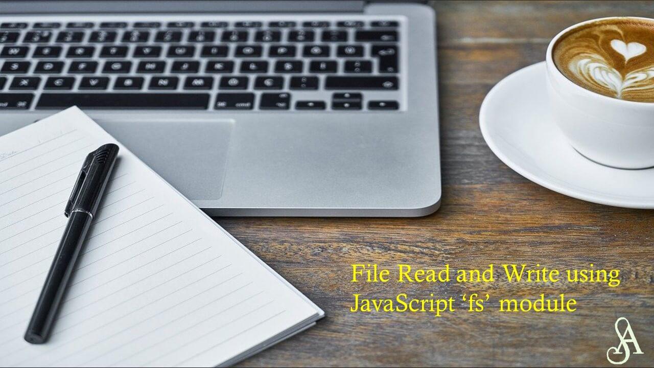File read & write in nodejs