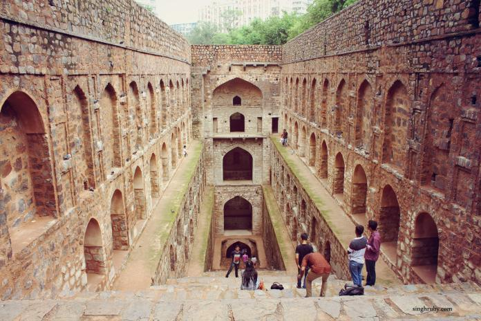 A closer look of the Baoli.