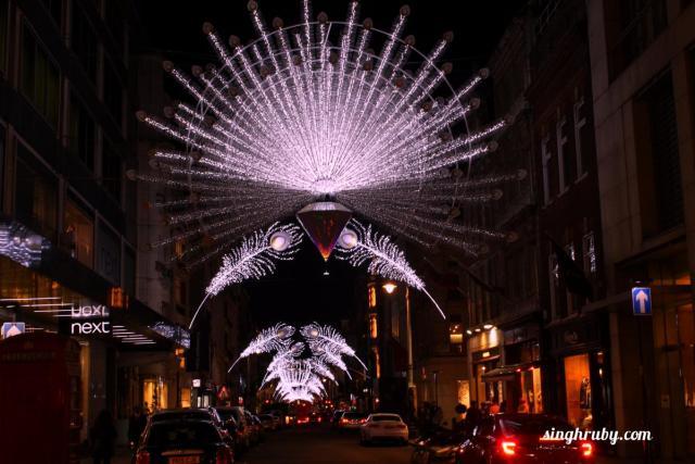 London street decoration