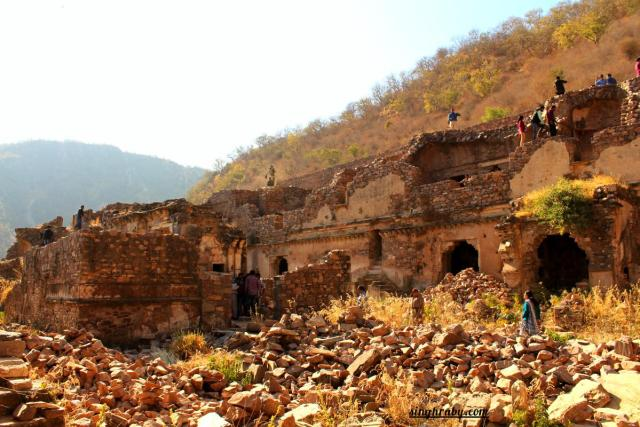 Remains in Bhangarh Fort