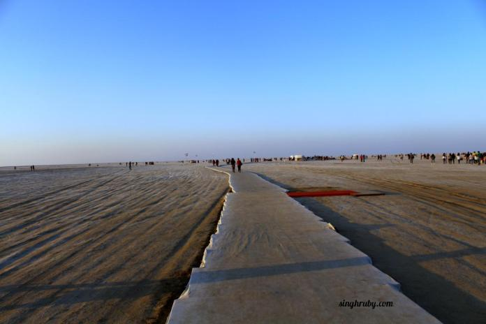 Entrance of Rann of Kutch