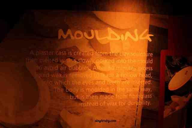 Moulding at Madam Tussaud