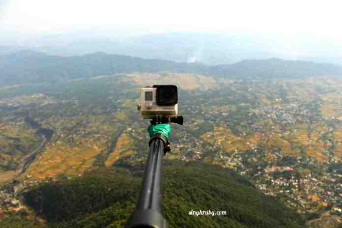 Go Pro camera to record your experince