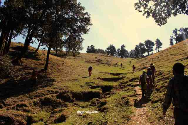 The final leg to Nagtibba