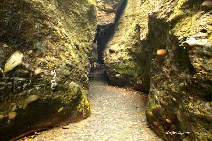Inside Robers Cave