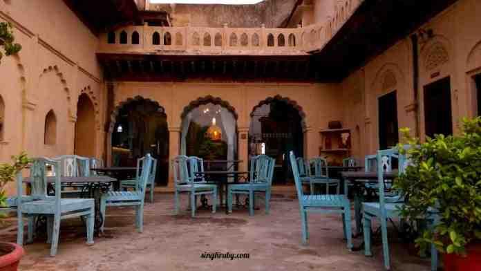 Hawa Mahal at Neemrana Fort Palace