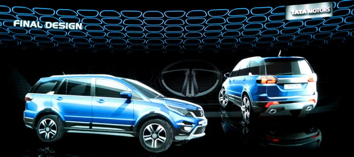 The final Design of Tata HEXA. Image Credits: Manjulika