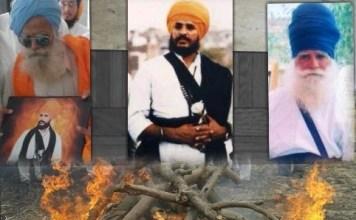 Angrez Singh Elder brother of Shaheed Sukhdev Singh Babbar