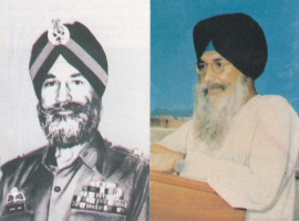 major gen Shabeg Singh