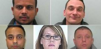 uk sex trafficking gang