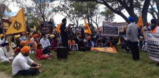 sikhs-protest-canberra