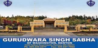 Gurudwara Singh Sabha of Washington