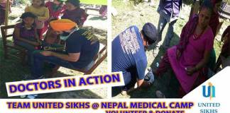 United-sikhs-nepal-relief