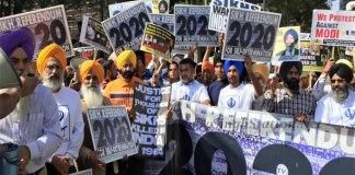 sikhs-protest-modi