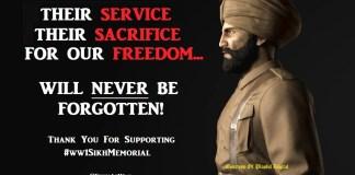 WW1 Sikh Memorial UK