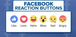Facebook Emoji Reactions