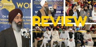 world sikh conference review
