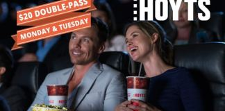Hoyts $20 double pass