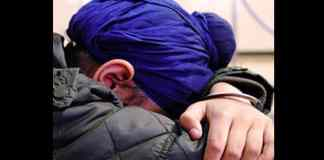 sikh school boy patka turban