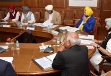 Punjab Cabinet congress first cabinet meet