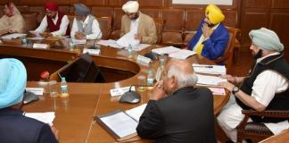 Punjab Cabinet congress first cabinet meet