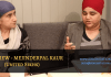 interview mejinderpal kaur